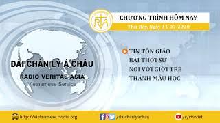 CHƯƠNG TRÌNH PHÁT THANH, Thứ Bảy 11/07/2020
