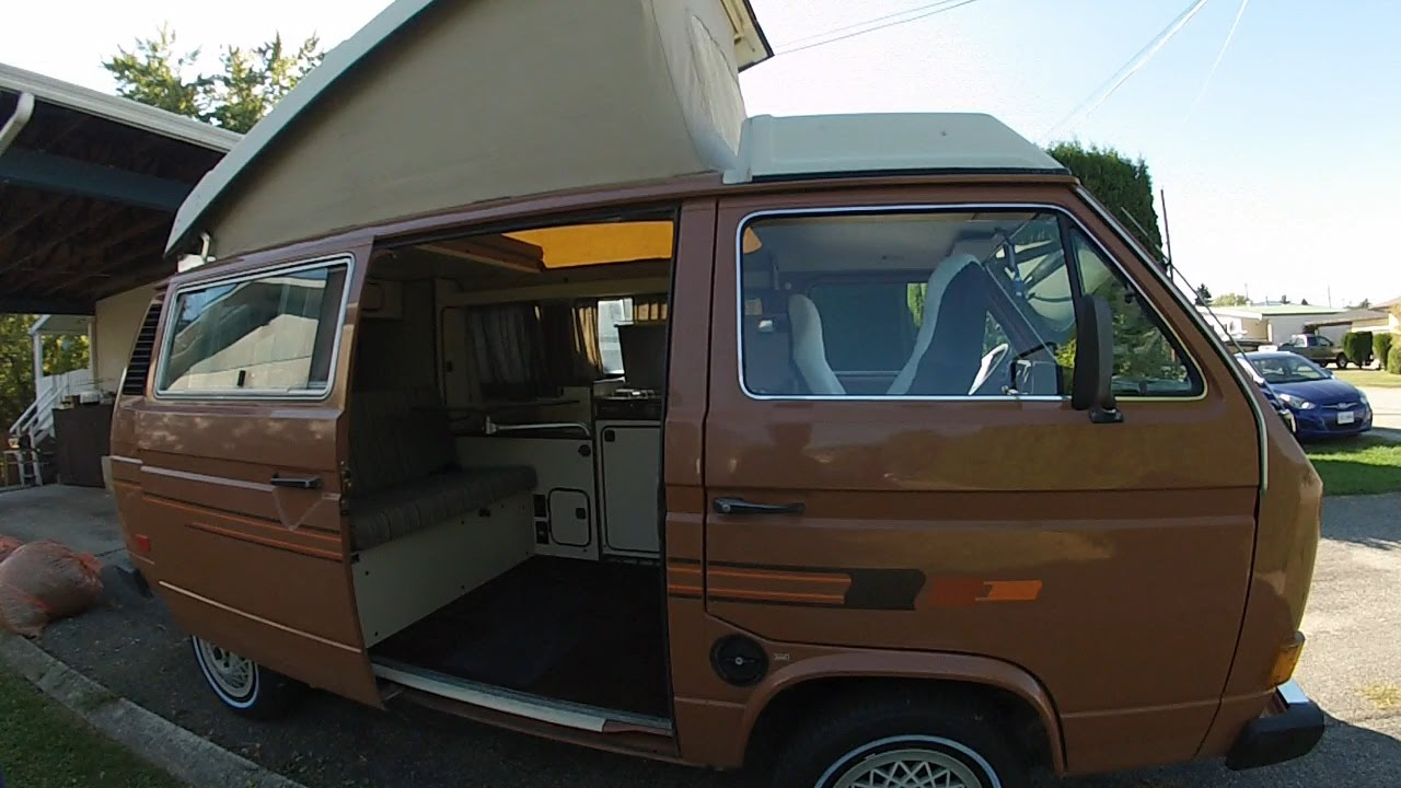 82 Vw Vanagon Westfalia Youtube