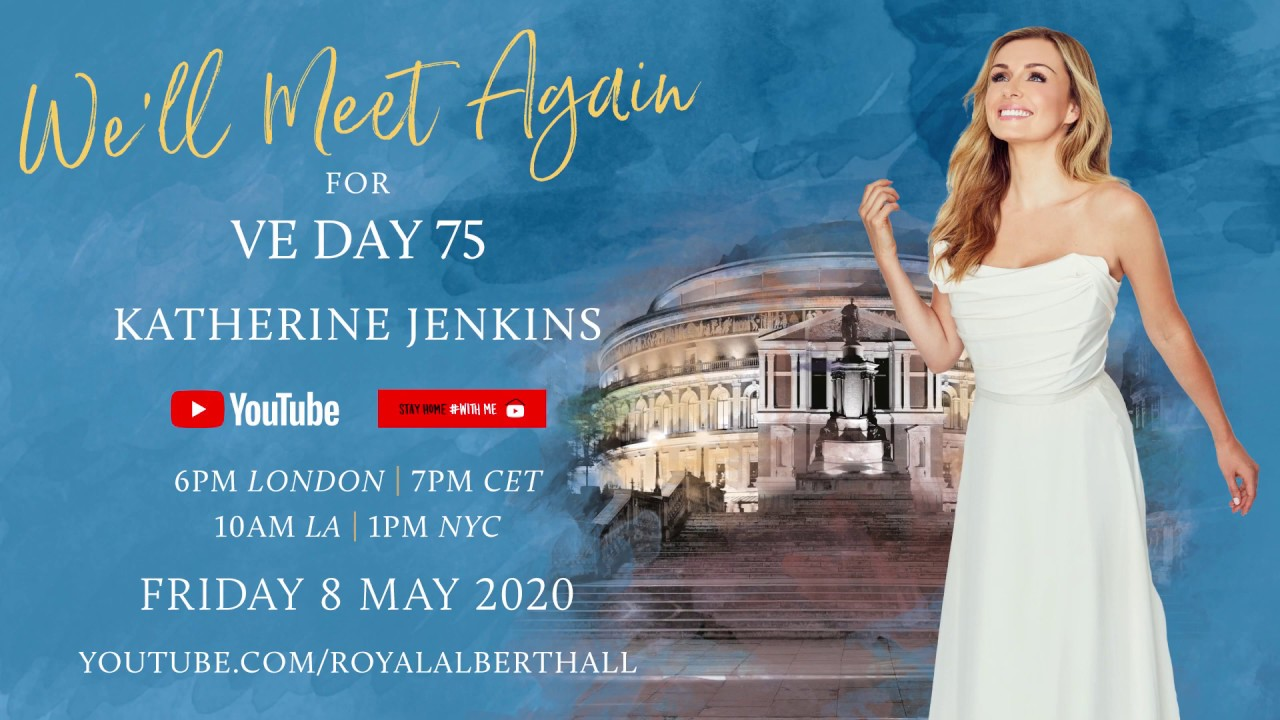 VE Day Closed-Door Concert with Katherine Jenkins