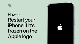 How to restart your iPhone if it's frozen on the Apple logo — Apple Support