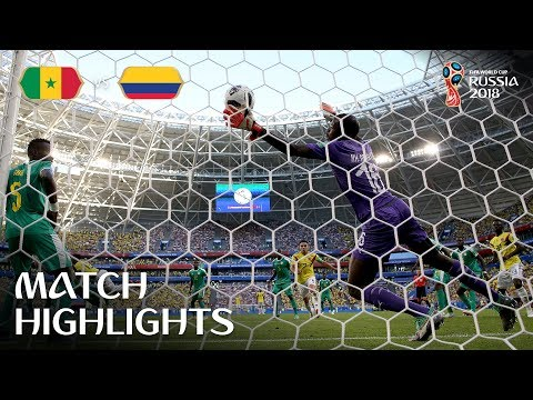 Senegal v Colombia | 2018 FIFA World Cup | Match Highlights
