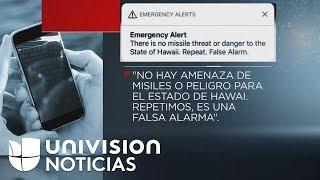 Falsa alarma de un ataque con misil genera 38 minutos de pánico en Hawaii