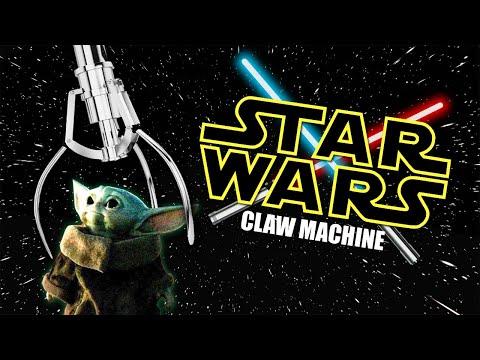 STAR WARS CLAW MACHINE!