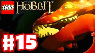 LEGO The Hobbit - Gameplay Walkthrough Part 15 - Smaug Boss Fight Ending! (Xbox One, PS4, PC)