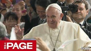 ローマ教皇 38年ぶり来日、東京ドームで5万人ミサ(2019年11月25日)