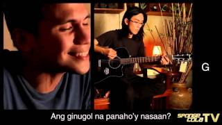 SCTV Sponge Cola    Di Na Mababawi (live acoustic HD + chords + lyrics)