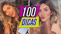 100 DICAS DE BELEZA QUE VOCÊ PRECISA SABER!