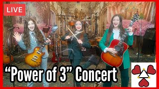 """K3 Sisters Band LIVE """"Power of 3"""" Concert 5/15/21"""