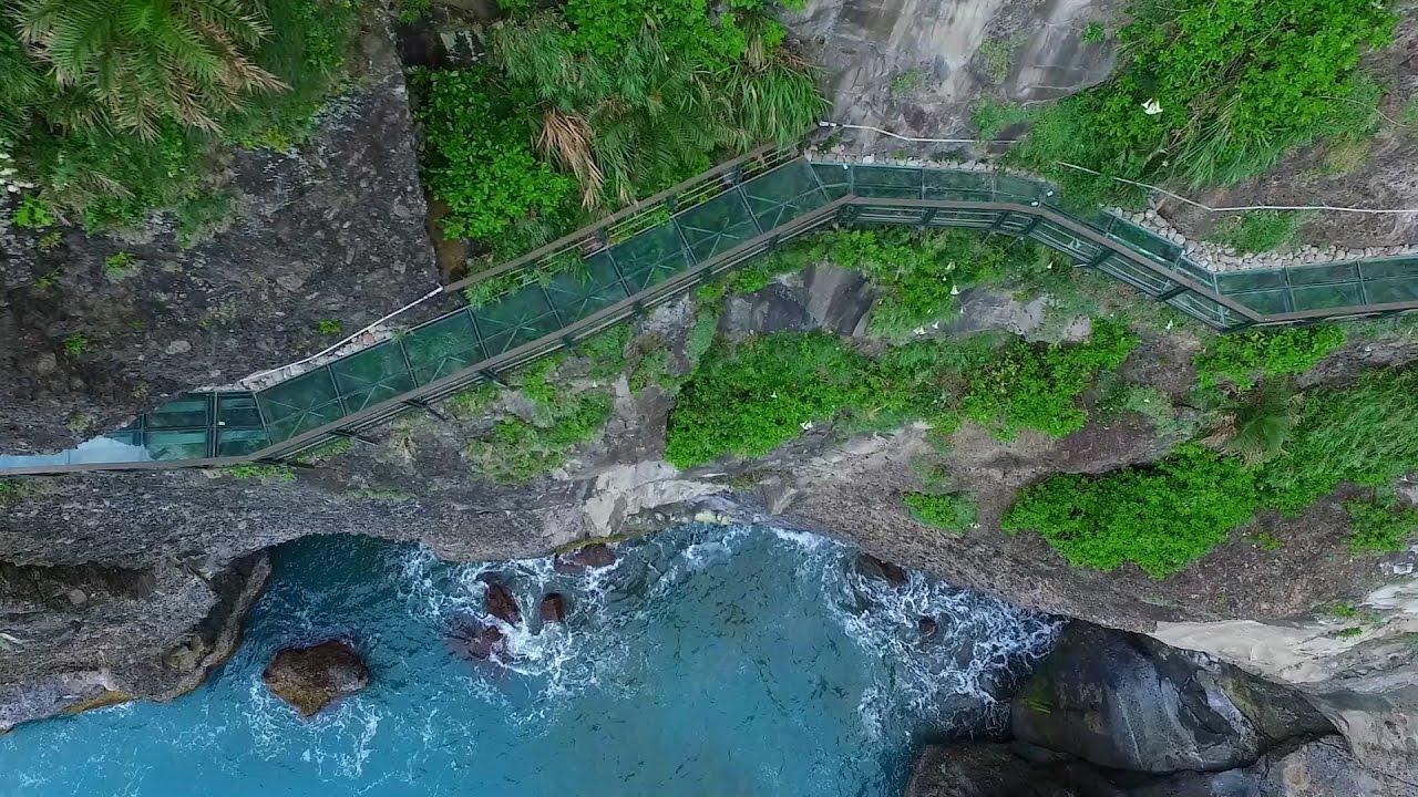 【親不知子天空步道】空拍 Aerial Photography of Taiwan 【Skywalk】 - YouTube
