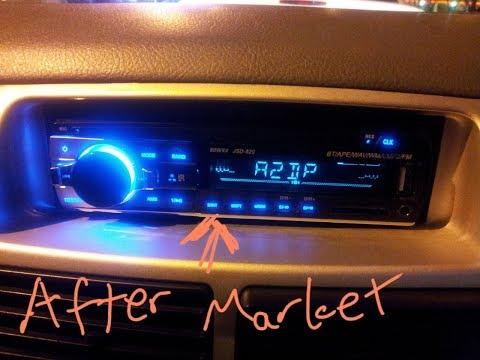 Swapping Perodua Viva's Stereo