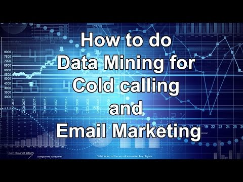 How to do Data Mining for Cold calling and Email Marketing