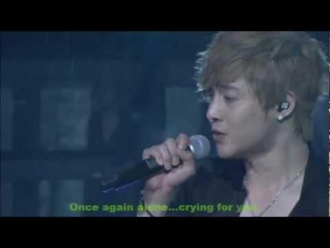 (HD)★SS501★Kim Hyun Joong (Eng sub) Because I'm Stupid ♥*¨*♪ JAPAN 2011