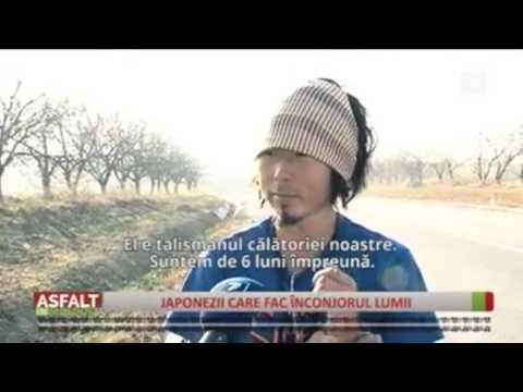Cycling around the world , Moldova TV