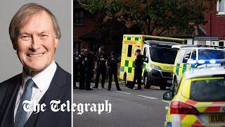 video: Sir David Amess dies: Terror police leading probe into MP's fatal stabbing