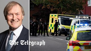 video: Counter-terror probe launched into killer of MP Sir David Amess