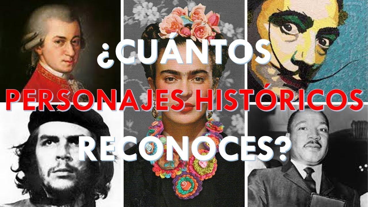 """¿Cuántos """"PERSONAJES HISTÓRICOS"""" Reconoces? TEST DE CULTURA GENERAL / PREGUNTAS Y RESPUESTAS"""