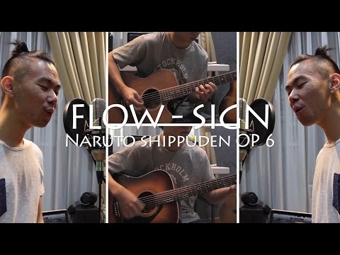 Flow - Sign (Naruto Shippuden OP 6) Acoustic Cover | Jason Wijaya Mp3