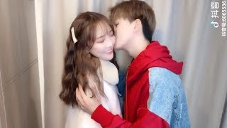 Sweet couple in tik tok Chinese/douyin