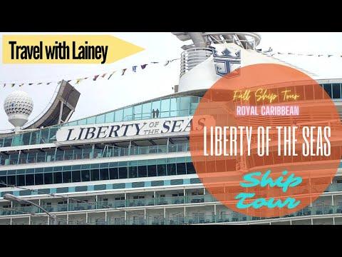 Royal Caribbean Liberty of the Seas - Ship Tour June 2018