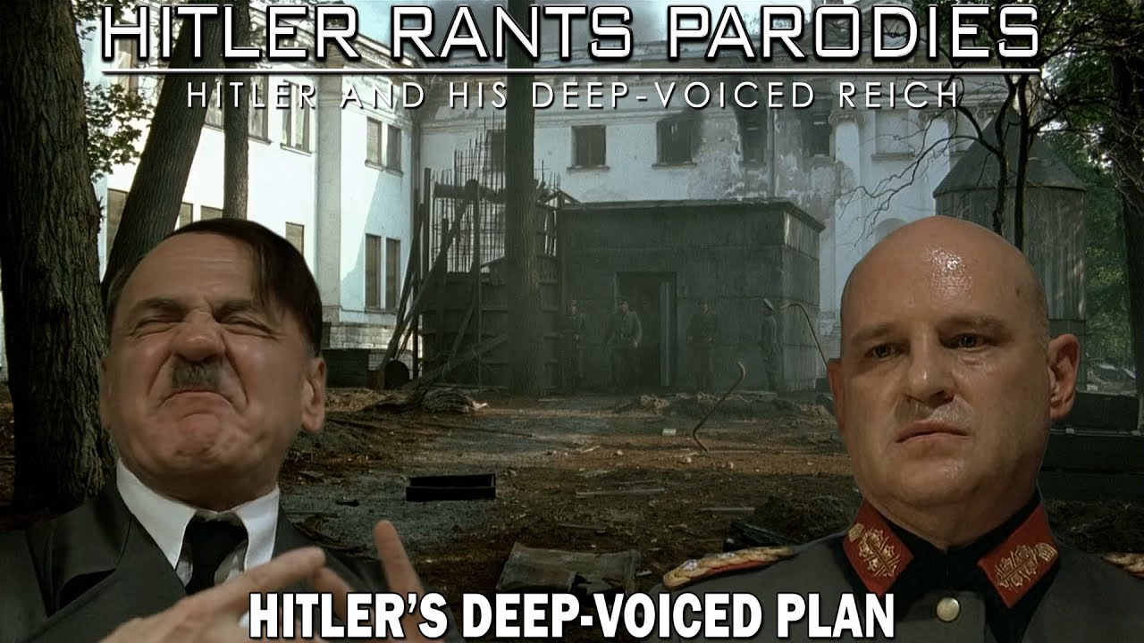 Hitler's deep-voiced plan