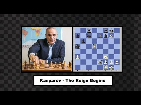 Kasparov - Portisch 1983 - The Reign Of Kasparov Begins
