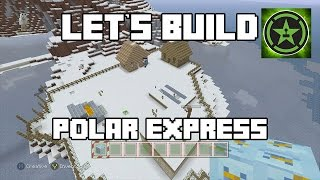 Let's Build in Minecraft - Polar Express