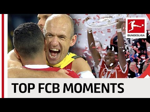 FC Bayern München Are Bundesliga Champions - Best Moments 2017/18