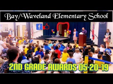 Bay/Waveland Elementary School 2nd Grade Awards Day 05-20-19