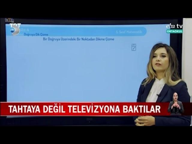 AREV Okulları Kanal D Ana Haber bülteninde online eğitimi anlattı !