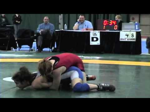 2009 Junior National Championships: 51 kg Sam Stewart vs. Emilie Guitard