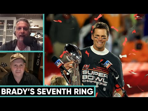 Bill Simmons Reacts to Tom Brady's Seventh Super Bowl Win | The Bill Simmons Podcast With Cousin Sal
