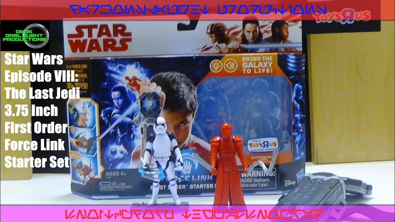 The Last Jedi Force Link Starter Set Star Wars