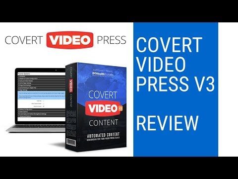 Covert Video Press REVIEW. http://bit.ly/2ZzwOCD
