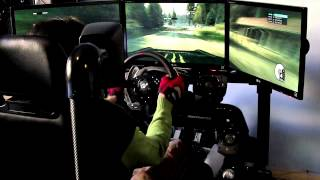 Dirt 3 PC Gameplay Sim Racing Cockpit - Finland Rally