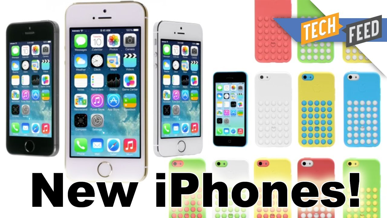 iPhone 5S & iPhone 5C REVEALED!