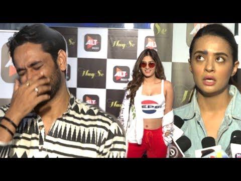 Karishma Sharma Surveen Chawla Many Celeb Special Screening Upcoming Webseries Haq Se