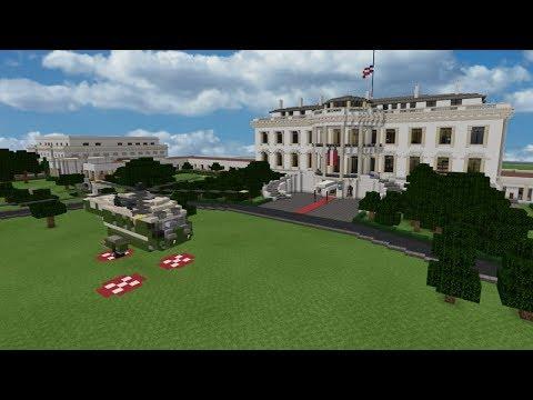 Episode 29: Minecraft World Tours (The White House)