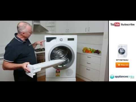 WTY88700AU Bosch 7kg Heat Pump Dryer Reviewed By Expert - Appliances Online