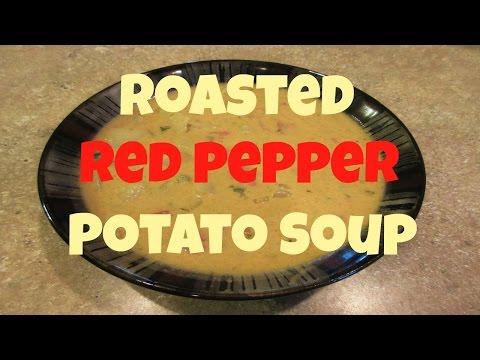 VEGETARIAN RECIPE: ROASTED RED PEPPER POTATO SOUP