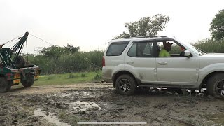 My Indian Suv Stuck In Mud - Live Accident 😭