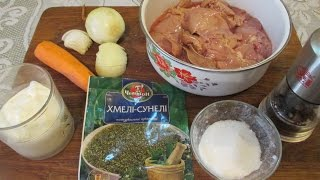 Как приготовить Куриную Печень. Быстрый и вкусный рецепт. // Олег Карп