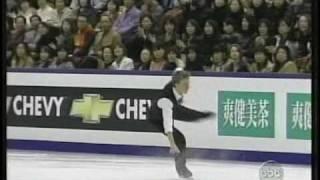 Timothy Goebel (USA) - 2002 World Figure Skating Championships, Men's Free Skate