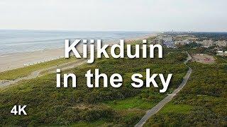 Kijkduin in the sky 4K (ultra HD)