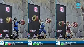 Clean & Jerk lifts comparison - Grand Prix Lima - Men 96kg