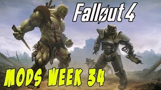 FALLOUT 4 MODS - WEEK #34: French Nails, Riddick, Play With Dogmeat & More!