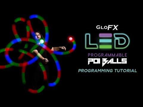 GloFX Programmable LED Poi & Juggling Balls - Programming Tutorial