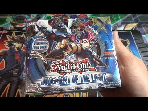 Yu-Gi-Oh! Judgment Of The Light 1st Edition Unboxing