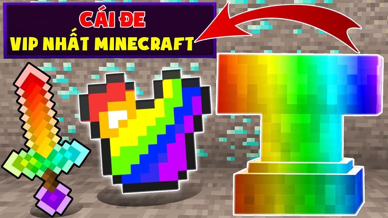 Minecraft, Nhưng Sở Hữu Cái Đe Vip Nhất!