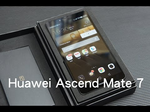 Huawei Ascend Mate 7 unboxing (Greek)