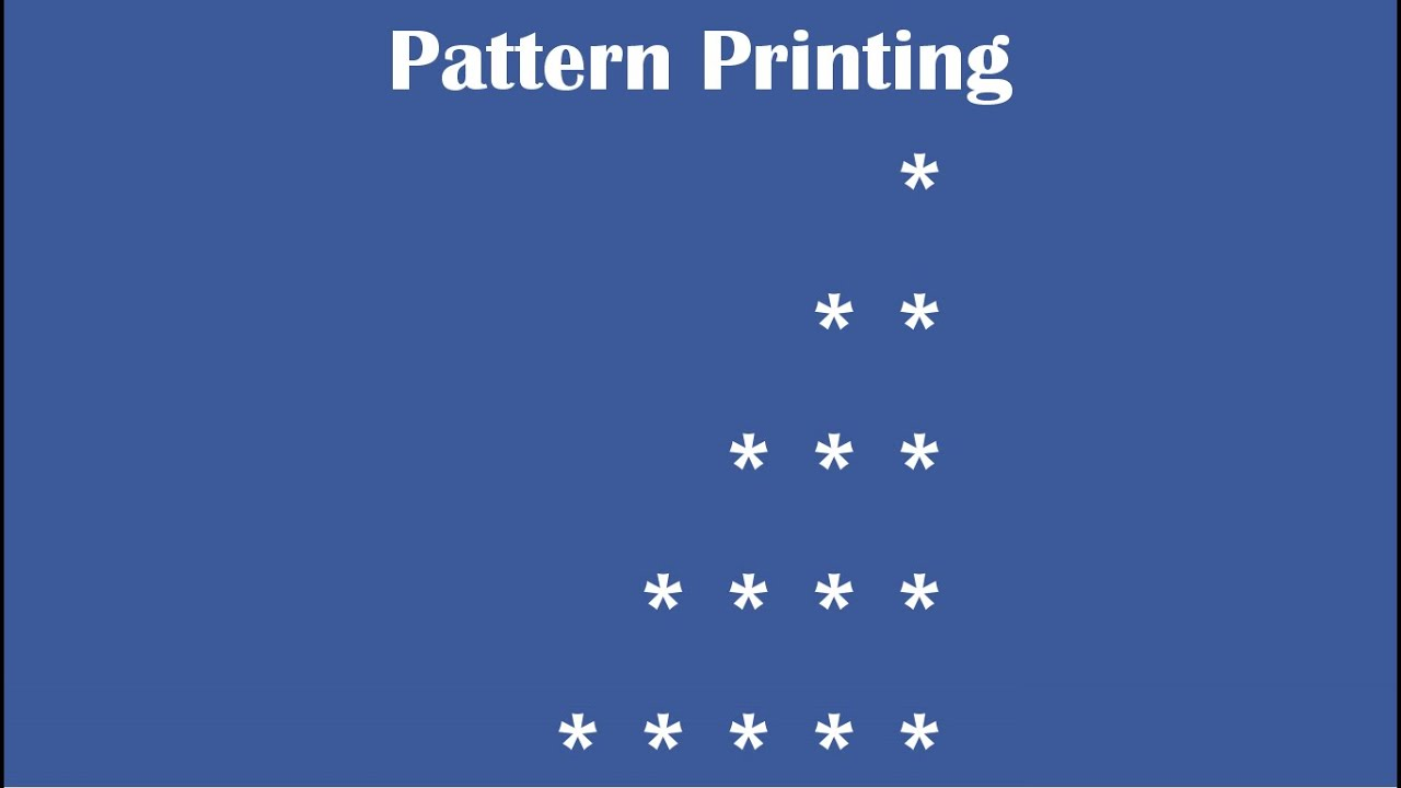 C Practical And Assignment Programs Pattern Printing 3 Youtube